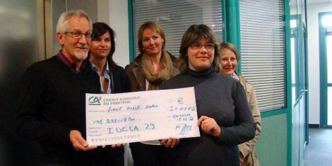 Gwenaëlle Brenner - G2H29 reçoit le prix Ideca 2013