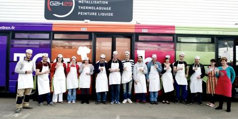 G2H29-Atelier Cuisine pour la Cohésion de groupe - Toques et Bus - Anne Tréguer - Briec - Finistère