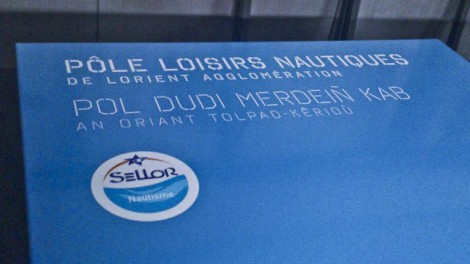 Signalétique - Pôle Loisirs Nautiques Lorient Agglo