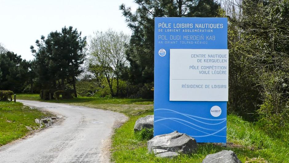 Posé - Signalétique - Pôle Loisirs Nautiques Lorient Agglo