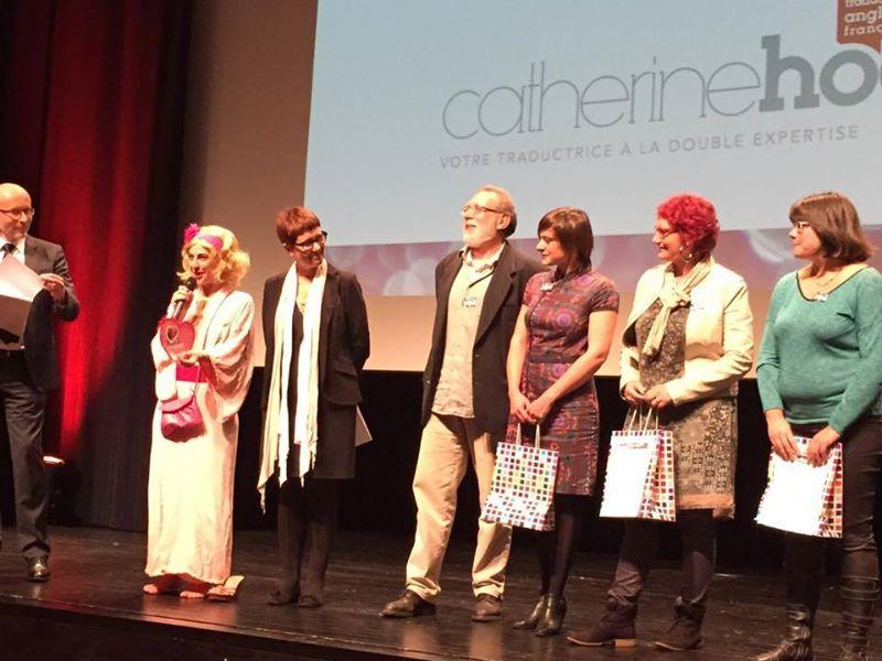 Trophées de l'Audace décerné à Gwennaelle Brenner G2H29 - Courants Porteurs - Octobre 2014